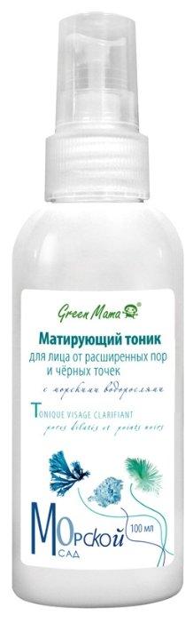 Green Mama Матирующий тоник для лица