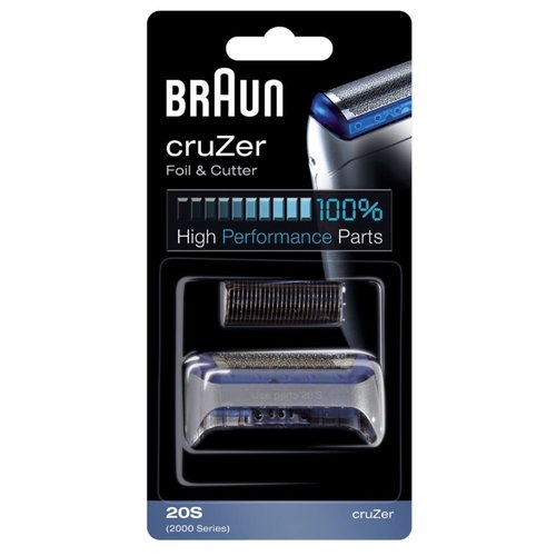 Сетка и режущий блок Braun 20S (2000 Calypso cruZer) сетка braun 20s cruzer для бритвы braun 2000 серии красный