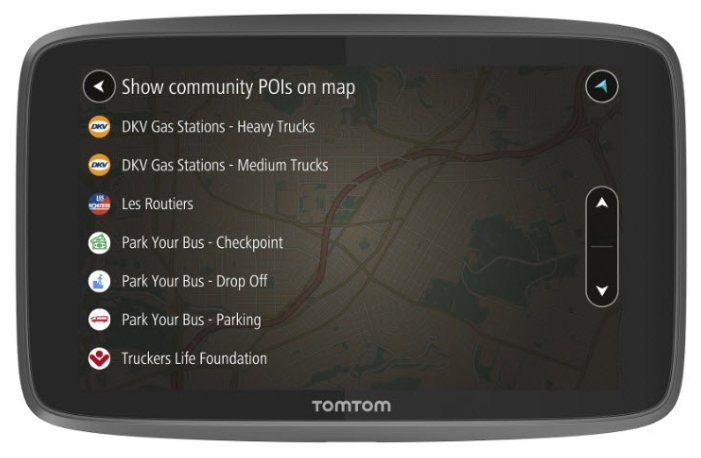 TomTom Навигатор TomTom GO PROFESSIONAL 6250
