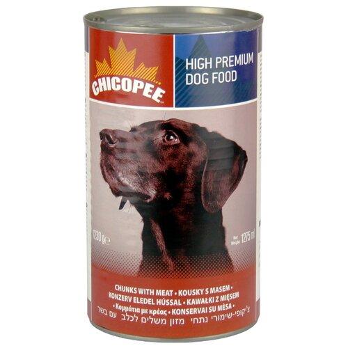 Влажный корм для собак Chicopee говядина 1.23 кг