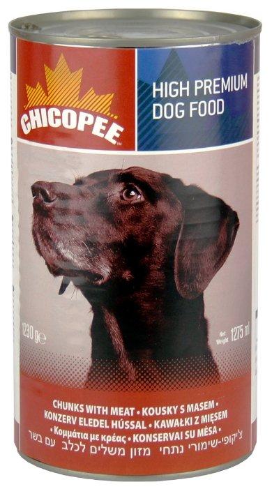 Корм для собак Chicopee Консервы для собак: мясные кусочки с говядиной