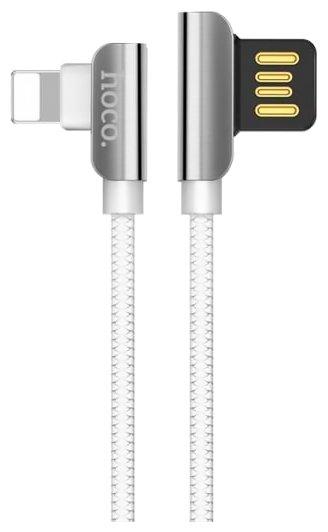 Кабель Hoco U42 Exquisite Steel USB - Lightning 1.2 м
