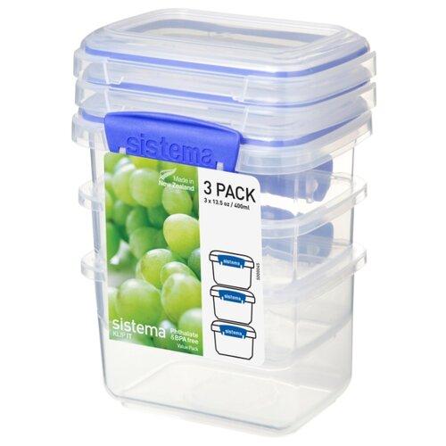 Sistema Набор контейнеров KLIP IT Packs 1543 прозрачный