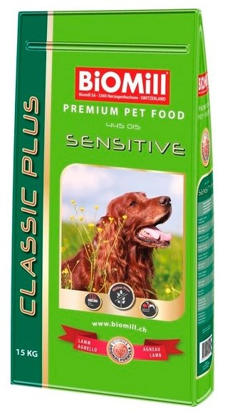 Корм для собак Biomill Classic Sensitive