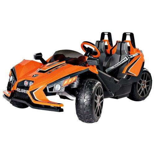 Купить Peg-Perego Автомобиль Polaris Slingshot черный/оранжевый, Электромобили