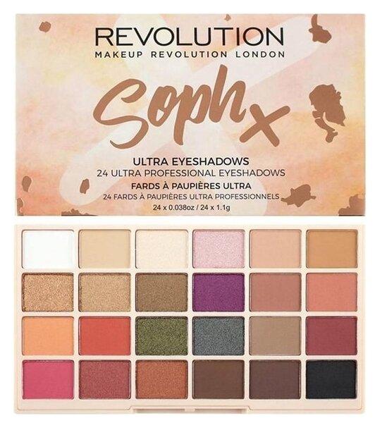 REVOLUTION Палетка теней SophX Ultra Eyeshadows