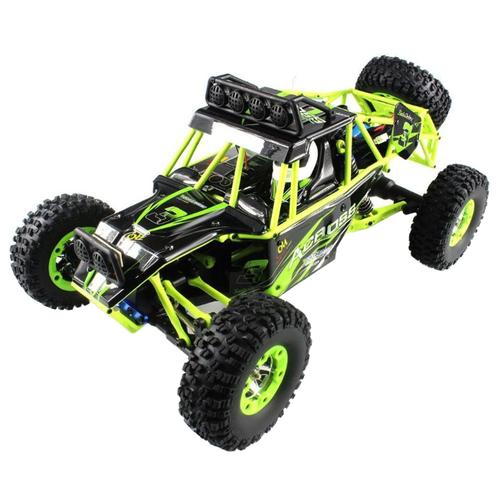 Купить Внедорожник WL Toys 12428 1:12 38 см зеленый/черный, Радиоуправляемые игрушки