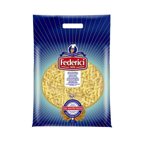 Federici Макароны Спиральки № 42, 3 кг