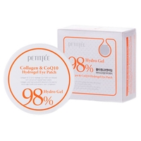 Petitfee Гидрогелевые патчи Hydro gel collagen and coq10 eye spot patch