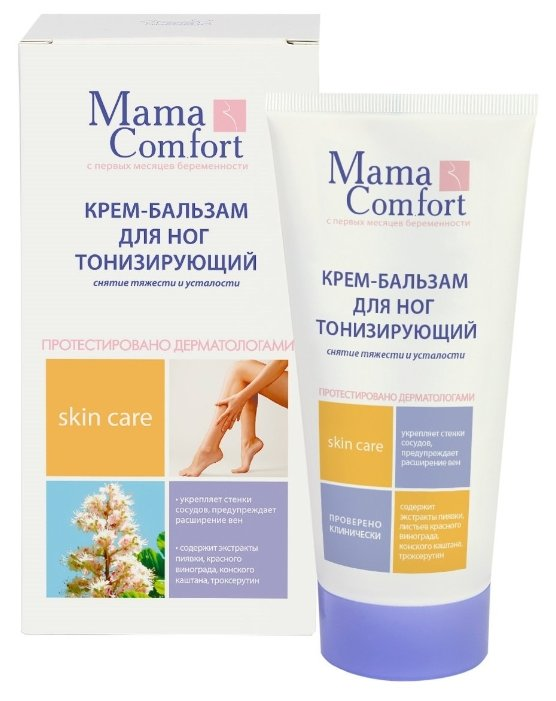 Mama Comfort Крем-бальзам для ног тонизирующий
