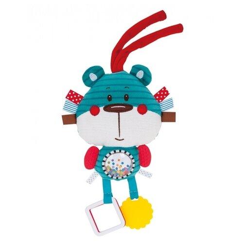 Купить Подвесная игрушка Canpol Babies Лесные друзья Медвежонок (68/042) бирюзовый, Подвески