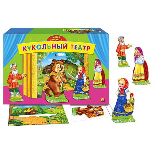 Купить Рыжий кот Кукольный театр Маша и медведь (ИН-9161)