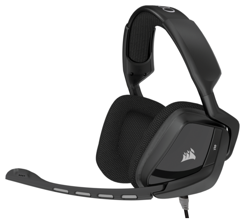 Компьютерная гарнитура Corsair VOID Surround Hybrid Stereo Gaming Headset with Dolby 7.1 USB Adapter