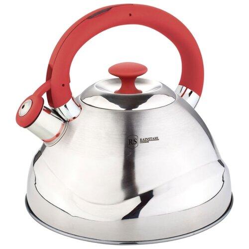 Rainstahl Чайник 7643-30RS\WK 3 л, красный rainstahl чайник 7625 30rs wk 3 л стальной черный