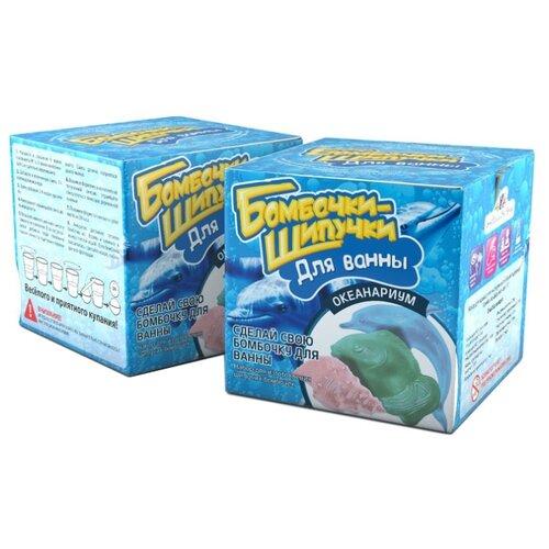 Инновации для детей Бомбочки-Шипучки. Океанариум клоран гель для детей