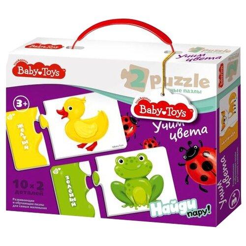 Настольная игра Baby Toys Учим цвета 02515Настольные игры<br>