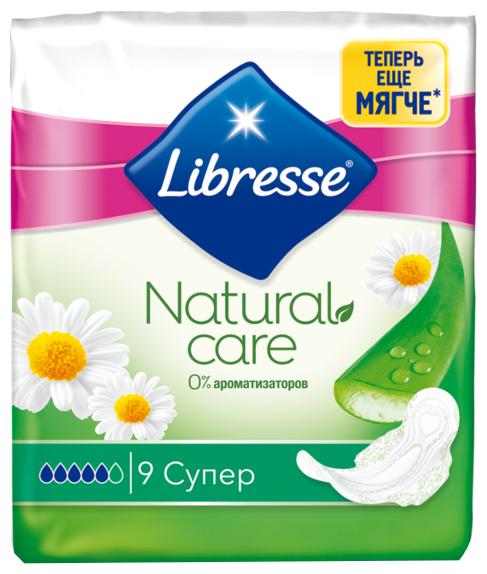 Libresse прокладки Natural Care Super