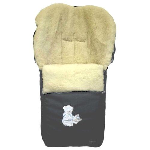 Купить Конверт-мешок Womar Aurora в коляску 95 см 11 графитовый, Конверты и спальные мешки