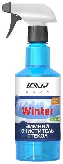 Очиститель для автостёкол Lavr Glass Cleaner Anti Ice Ln1301, 0.5 л