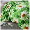 Плед Hongda Textile Ромашки, 180 x 200 см