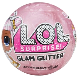 Кукла-сюрприз MGA Entertainment в шаре LOL Surprise 2 Glam Glitter, 8 см, в ассортименте