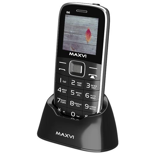 Купить Телефон MAXVI B6 черный