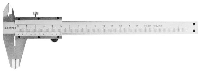 Нониусный штангенциркуль STAYER Profi 3442_z01 150 мм, 0.02 мм
