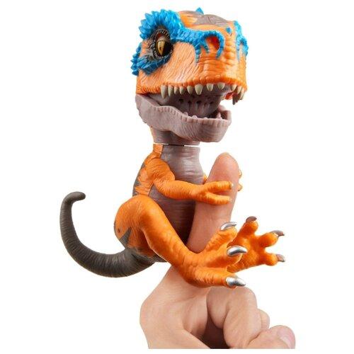 Купить Интерактивная игрушка робот WowWee Fingerlings Untamed T-Rex Скретч, Роботы и трансформеры