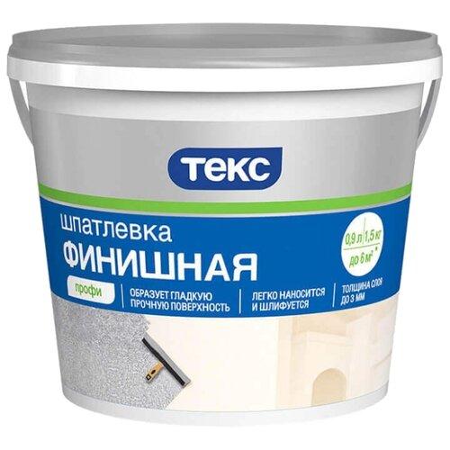 Фото - Шпатлевка ТЕКС финишная Профи шпатлевка финишная knauf 5 кг