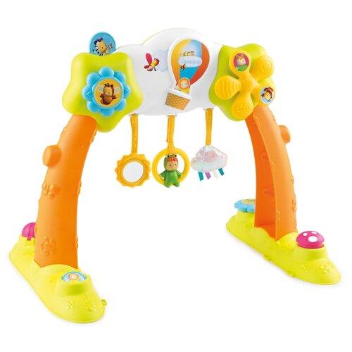 Купить Интерактивная развивающая игрушка Smoby Развивающий центр 2 в 1 оранжевый, Развивающие игрушки