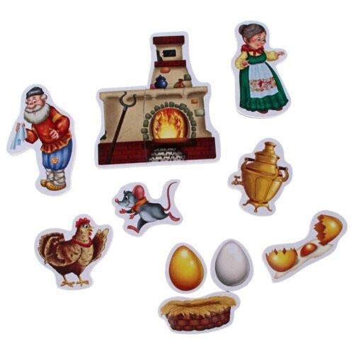 Vladi Toys Магнитный театр Курочка Ряба (VT3206-12) пазлы vladi toys игра настольная макси пазлы путешествие по сказке курочка ряба