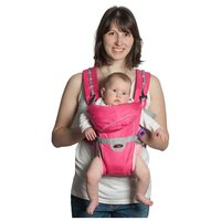 Рюкзак-переноска Чудо-Чадо BabyActive Simple розовый