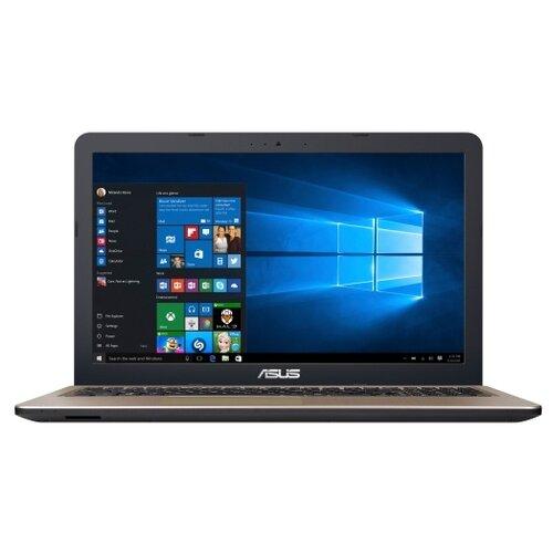 Купить Ноутбук ASUS VivoBook 15 D540MB-GQ145T (Intel Celeron N4000 1100MHz/15.6 /1366x768/4GB/500GB HDD/DVD нет/NVIDIA GeForce MX110 2GB/Wi-Fi/Bluetooth/Windows 10 Home) 90NB0IQ1-M02290 черный