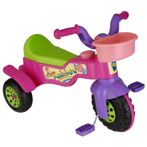 Купить Трехколесный велосипед pilsan 07/116 Halley Tricycle розовый, Трехколесные велосипеды