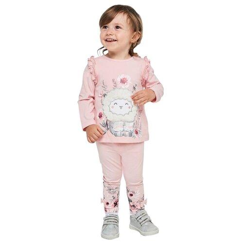 Лонгслив Pixo размер 92, светло-розовыйФутболки и рубашки<br>