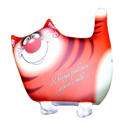 Фото - Игрушка-антистресс Штучки, к которым тянутся ручки Кот рыжий 32 см игрушка антистресс штучки к которым тянутся ручки кисонька голубая 30 см