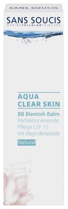 Sans Soucis BB крем Aqua Clear Skin SPF 15 40 мл