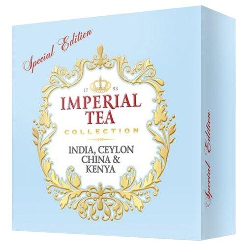 Чай Императорский чай Collection India, Ceylon, China & Kenya Special edition ассорти в пакетиках , 120 шт. фото