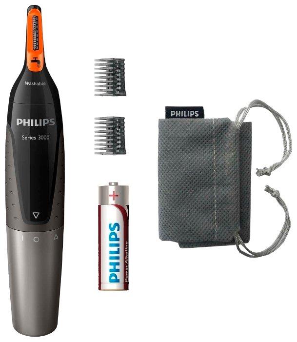 Philips Машинка для стрижки в носу и ушах Philips NT3160 Series 3000