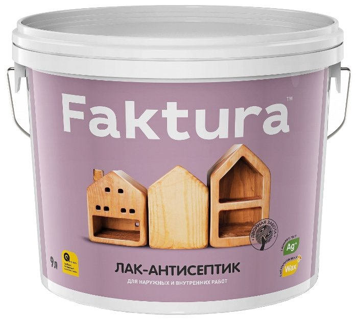 Лак Faktura Лак-антисептик (9 л)