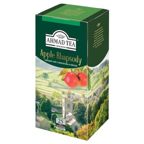 Чай черный Ahmad tea Apple rhapsody в пакетиках, 25 шт.Чай<br>