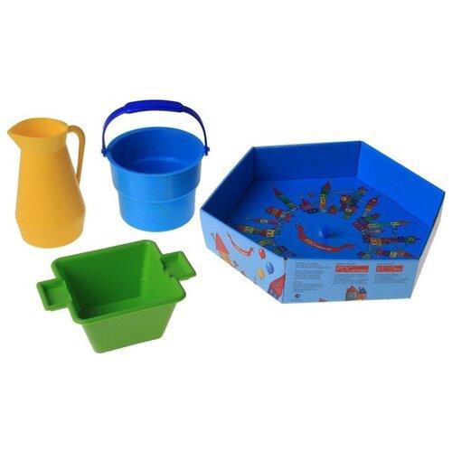 Купить Набор посуды Росигрушка Набор посуды Хозяюшка (в дизайн упаковке, 3 дет.) разноцветный, Игрушечная еда и посуда