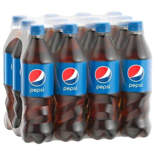 Газированный напиток Pepsi, 0.5 л, 12 шт. газированный напиток мингаз лимонад 0 5 л 12 шт