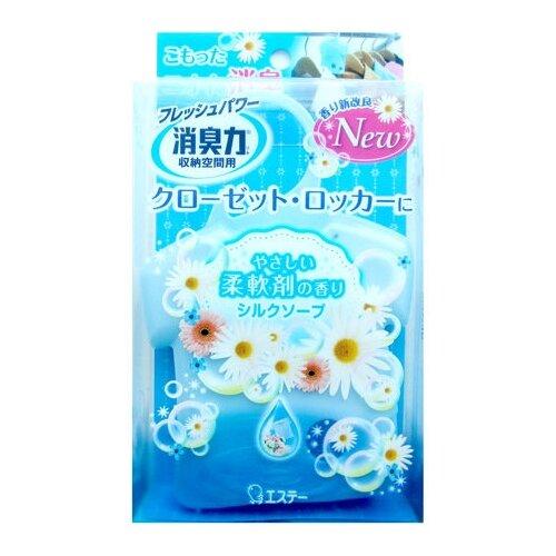 Shoshu-Riki Освежитель воздуха для шкафов на основе желе-сенсора с ароматом свежести 32 г 1 шт.