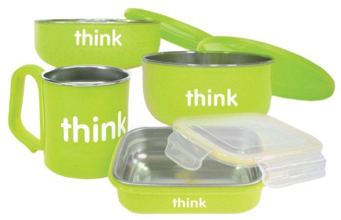 Комплект посуды Think Baby не содержащий бисфенол А