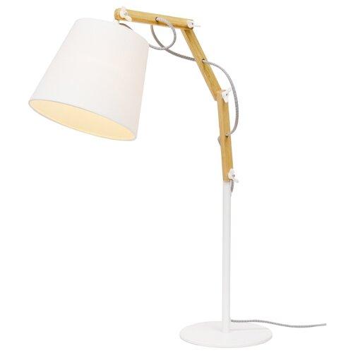 Настольная лампа Arte Lamp Pinocchio A5700LT-1WH, 60 Вт настольная лампа arte lamp pinocchio a5700lt 1wh 60 вт