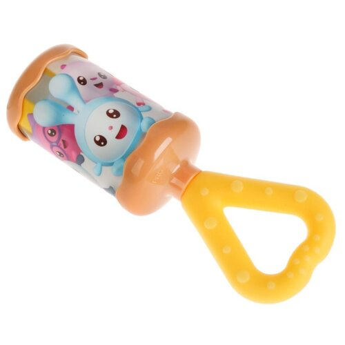Купить Погремушка Умка Малышарики Хлопушка FU9294-R1 разноцветный, Погремушки и прорезыватели