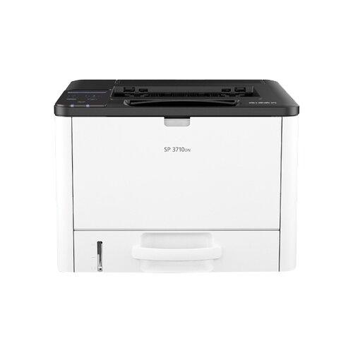 Принтер Ricoh SP 3710DN белый/черный
