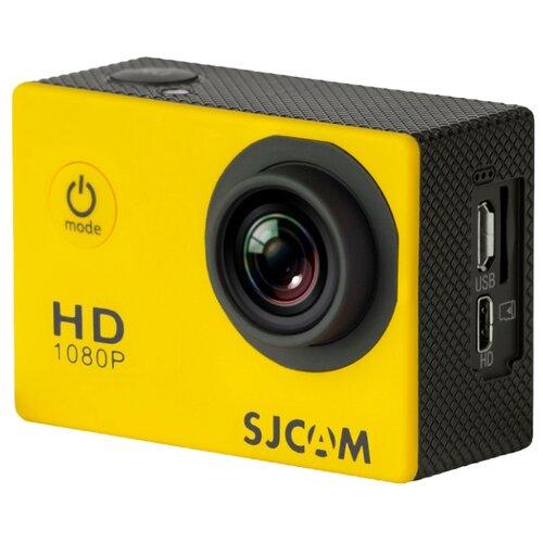 Фото - Экшн-камера SJCAM SJ4000 желтый экшн камера sjcam sj4000 wi fi yellow