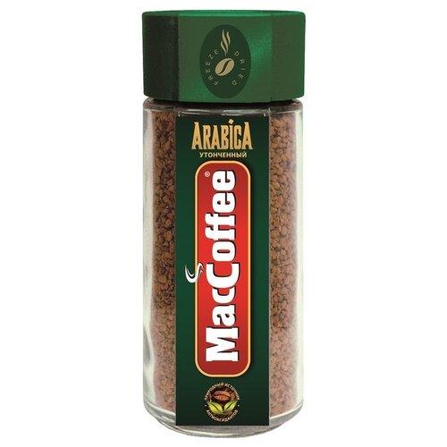 Кофе растворимый MacCoffee Arabica, стеклянная банка, 100 г набор today in fi ineo кофе растворимый 95 г today pure arabica кофе растворимый 37 5 г